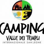 logo Camping Valle dei Templi internazionale San Leone, tantissimi servizi al viaggiatore, turismo, partner di Scuola Sub Empedocle, corsi sub PADI Agrigento, noleggio attrezzatura subacquea e ricarica bombole sub, diving center Sicilia